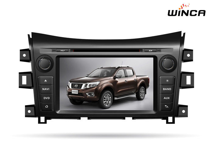 NISSAN Navara 2016 Nissan Head Unit , 8 Inch Touch Screen Nissan Navigation System